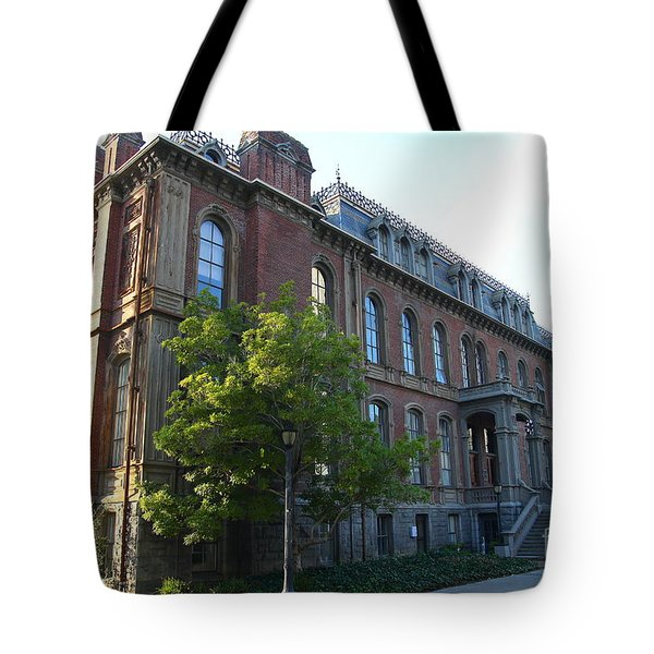 UC Berkeley . South Hall . Oldest Building At UC Berkeley . Built 1873 . 7D10103 Tote Bag by Wingsdomain Art and Photography