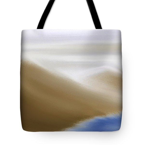 Under A Winter Sky Tote Bag by Gina Lee Manley