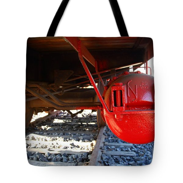 Under The Old Western Pacific Caboose Train . 7d10722 Tote Bag by Wingsdomain Art and Photography