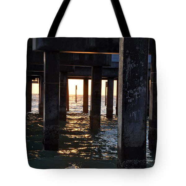 Under the Pier Tote Bag by Bill Cannon