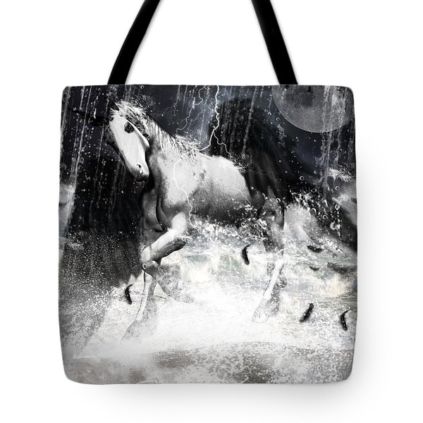 Unicorn's Complexities Tote Bag by Lourry Legarde