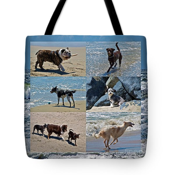 Uninhibited Creatures Tote Bag by Gwyn Newcombe