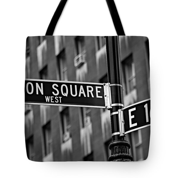 Union Square West Tote Bag by Susan Candelario