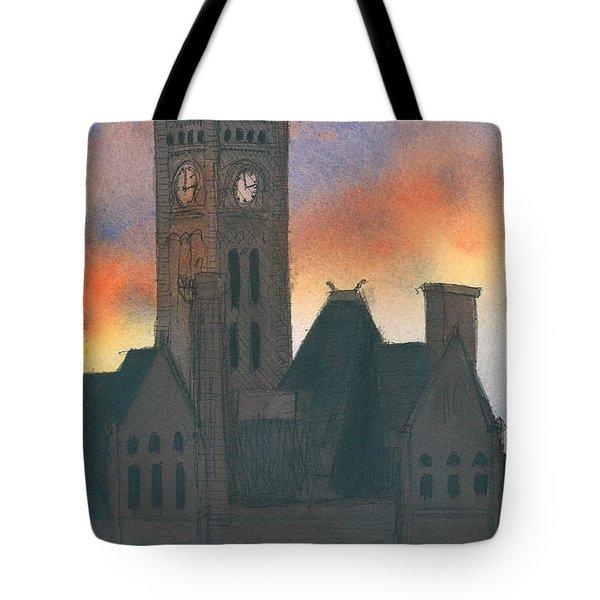 Union Station Tote Bag by Arthur Barnes