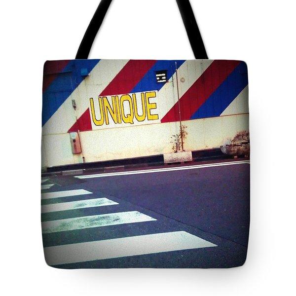 Unique Tote Bag by Eena Bo