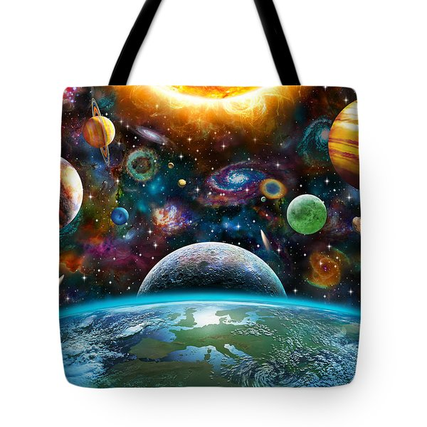 Universal Light Tote Bag by Adrian Chesterman