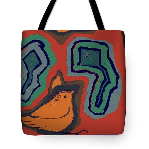 Untitled 25 Tote Bag by Vilas Malankar