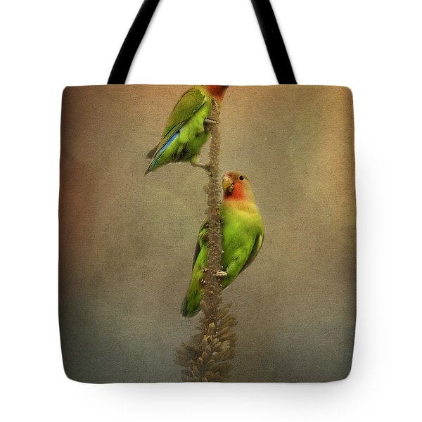 Up And Away We Go Tote Bag by Saija  Lehtonen