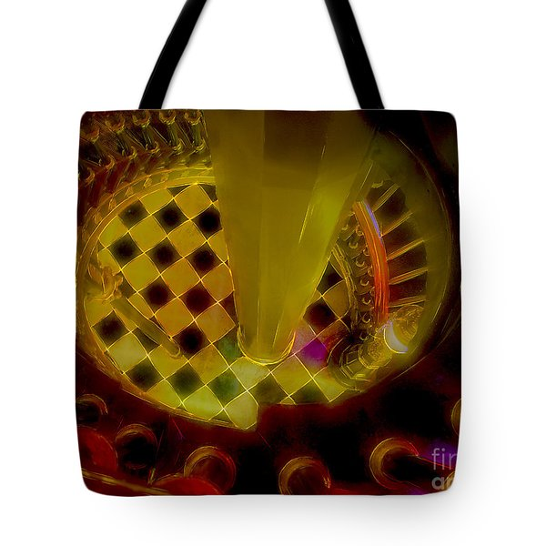 Up The Down Staircase Tote Bag by Judi Bagwell