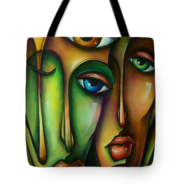 Urban Expressions Tote Bag by Michael Lang