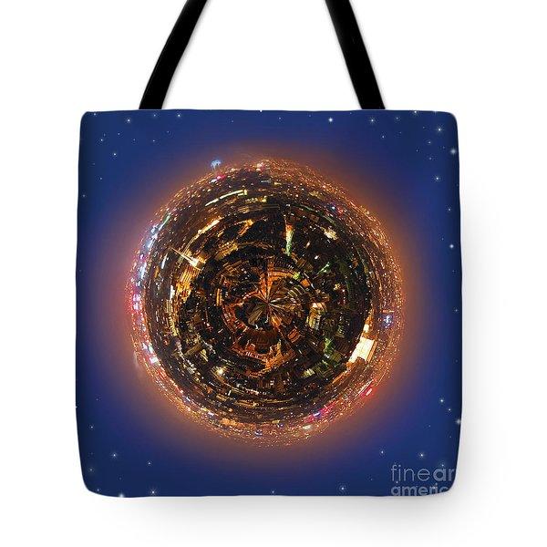 Urban planet Tote Bag by Elena Elisseeva