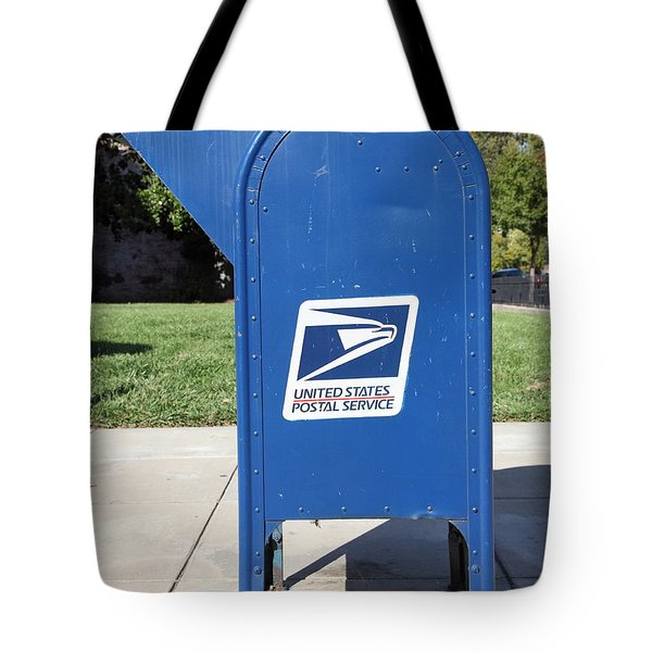 US Mail Box . 5D18813 Tote Bag by Wingsdomain Art and Photography
