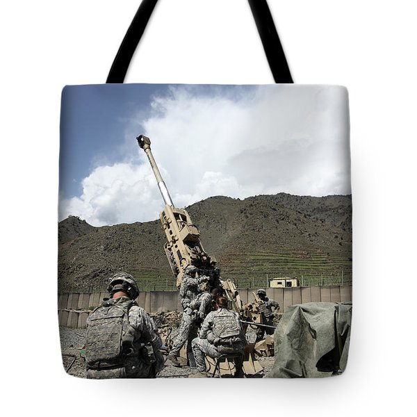 U.s. Soldiers Prepare For Their Next Tote Bag by Stocktrek Images