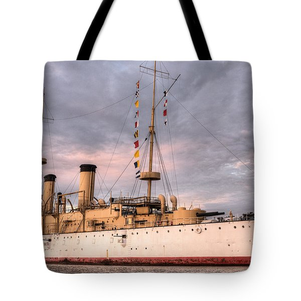 USS Olympia Tote Bag by JC Findley