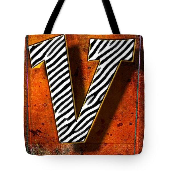 V Tote Bag by Mauro Celotti