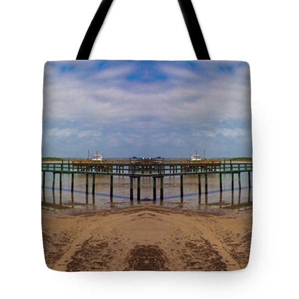 Vacation Reflection Tote Bag by Betsy C  Knapp