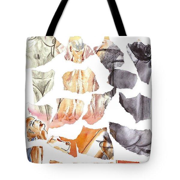vague memories Tote Bag by Michal Boubin