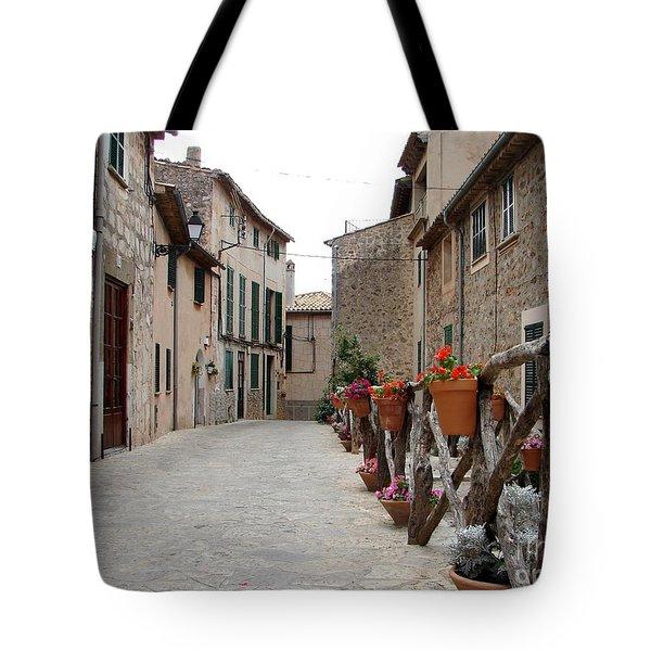 Valldemossa Tote Bag by Ana Maria Edulescu