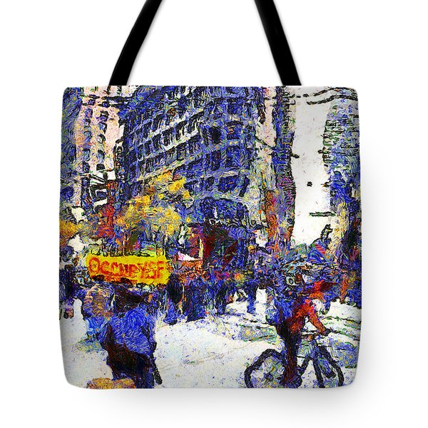 Van Gogh Occupies San Francisco . 7d9733 Tote Bag by Wingsdomain Art and Photography