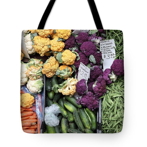 Variety of Fresh Vegetables - 5D17900 Tote Bag by Wingsdomain Art and Photography