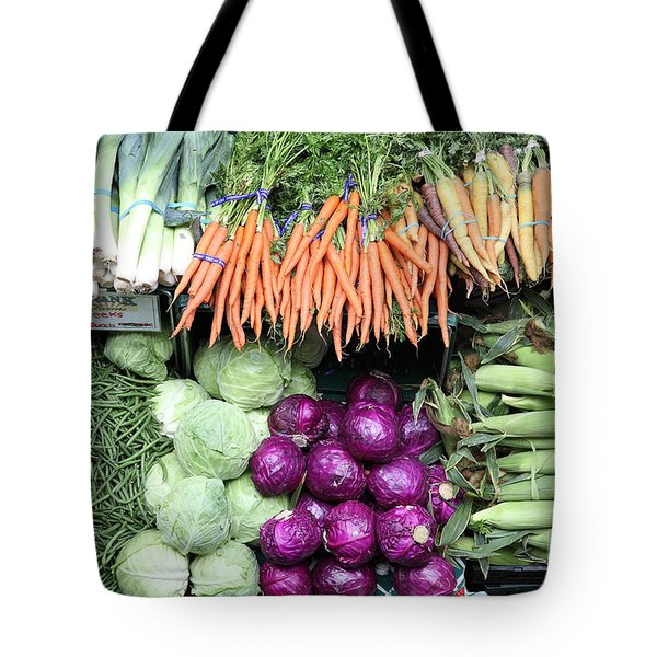 Variety of Fresh Vegetables - 5D17910 Tote Bag by Wingsdomain Art and Photography