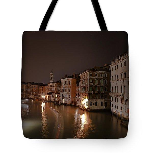 Venice by night Tote Bag by Joana Kruse