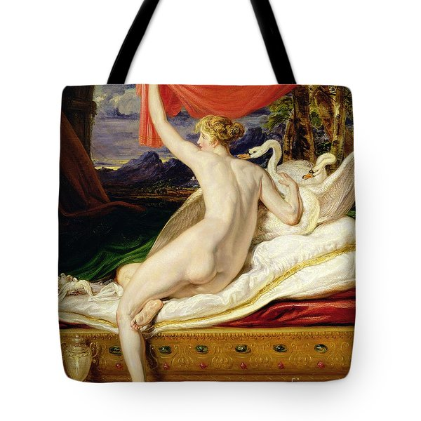 Venus Rising From Her Couch Tote Bag by James Ward
