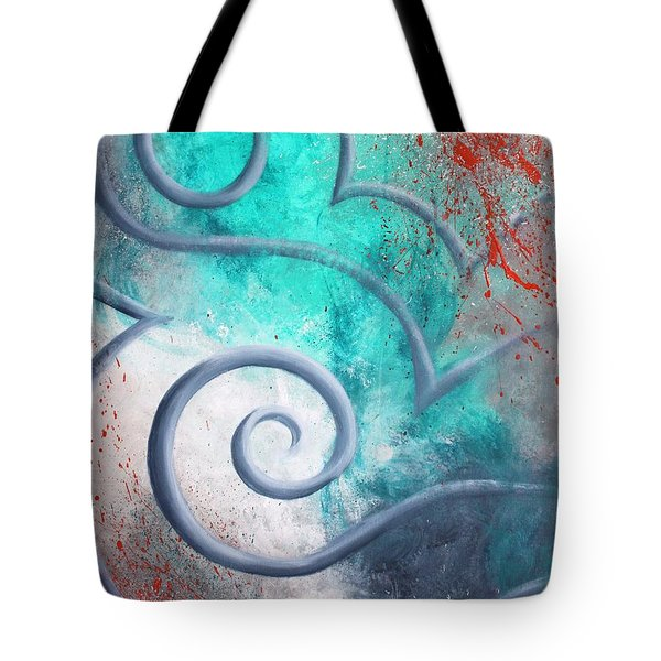Venus Sky Tote Bag by Reina Cottier