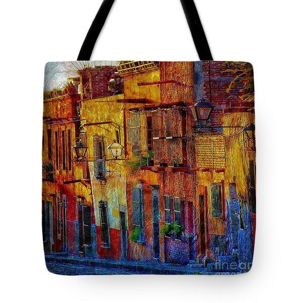 Vg On My Way Home Tote Bag by John  Kolenberg