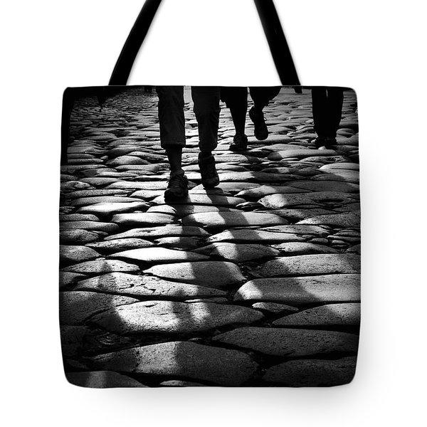 Via Sacra Tote Bag by Fabrizio Troiani