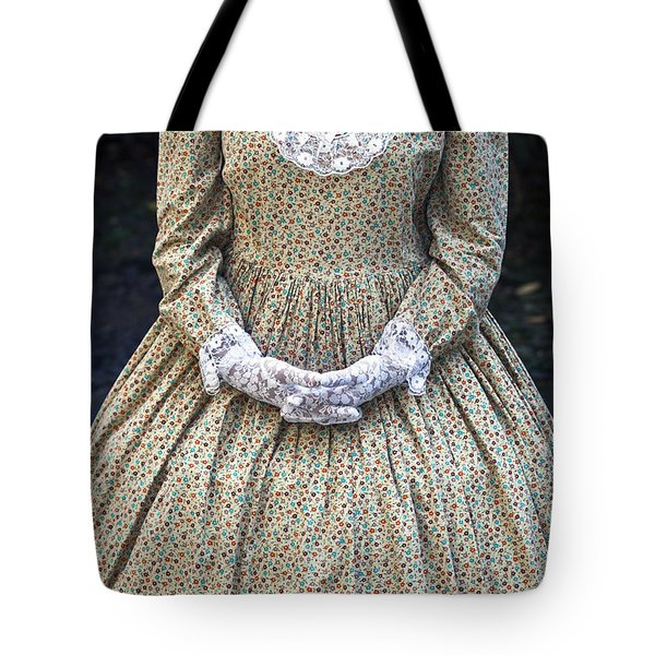 victorian lady Tote Bag by Joana Kruse