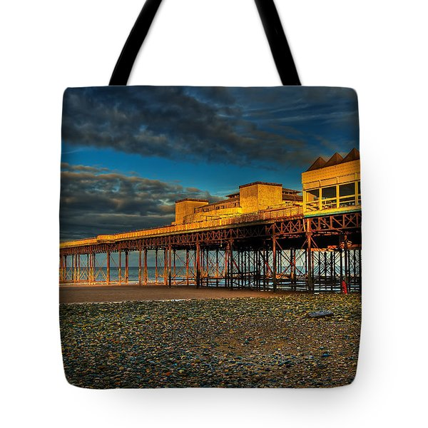 Victorian Pier Tote Bag by Adrian Evans