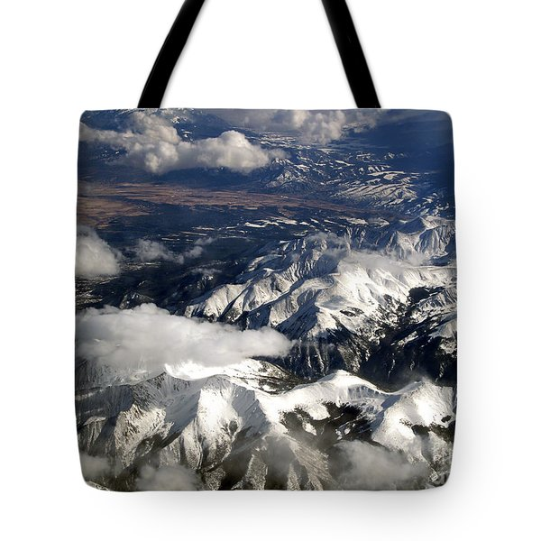 View From Above II Tote Bag by Patricia Griffin Brett