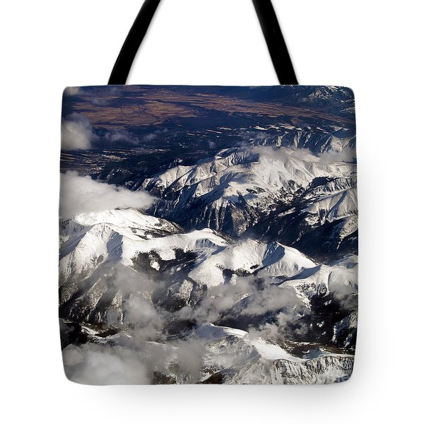 View From Above Iv Tote Bag by Patricia Griffin Brett