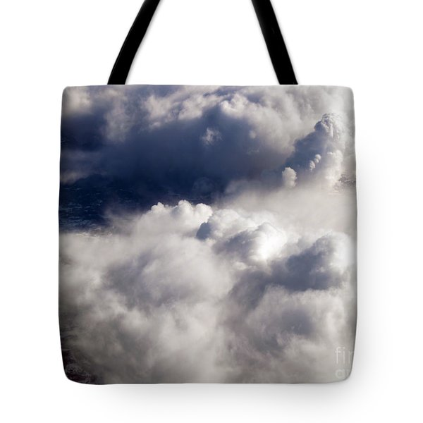 View From Above V Tote Bag by Patricia Griffin Brett