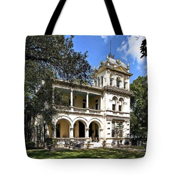 Villa Finale - A Last Home Tote Bag by Lianne Schneider