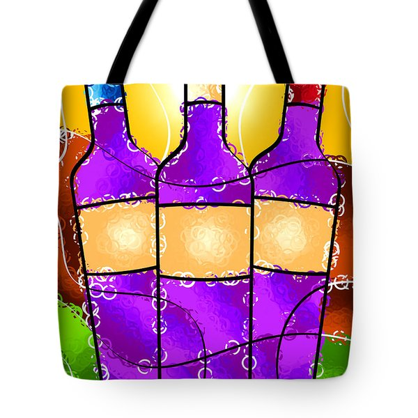 Vino Tote Bag by Stephen Younts