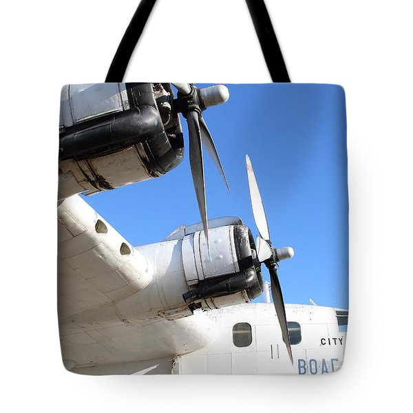 Vintage Boac British Overseas Airways Corporation Speedbird Flying Boat . 7d11265 Tote Bag by Wingsdomain Art and Photography