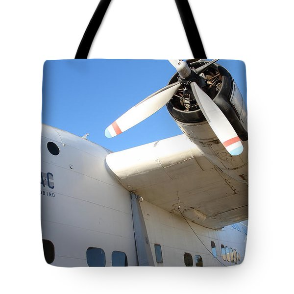 Vintage Boac British Overseas Airways Corporation Speedbird Flying Boat . 7d11279 Tote Bag by Wingsdomain Art and Photography