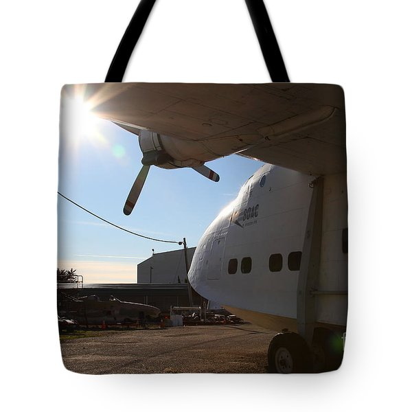 Vintage Boac British Overseas Airways Corporation Speedbird Flying Boat . 7d11284 Tote Bag by Wingsdomain Art and Photography