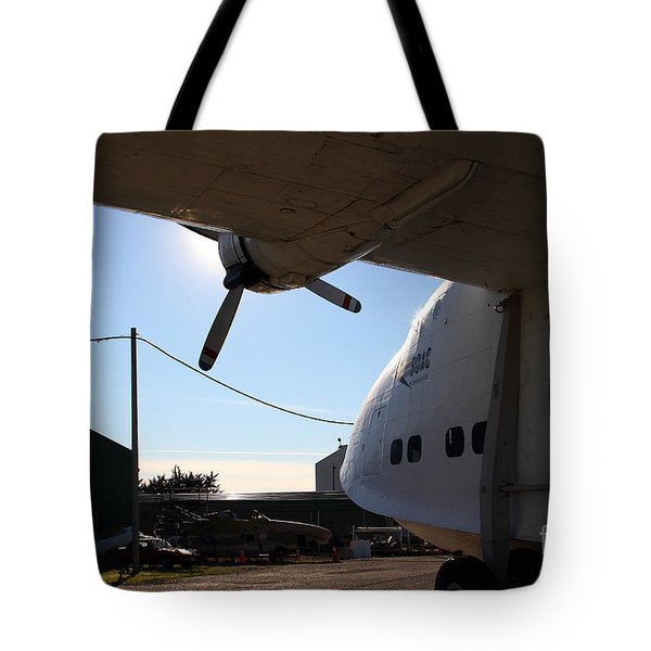 Vintage Boac British Overseas Airways Corporation Speedbird Flying Boat . 7d11287 Tote Bag by Wingsdomain Art and Photography