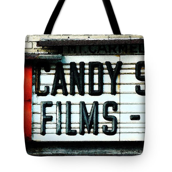 Vintage Candy Store Tote Bag by AdSpice Studios