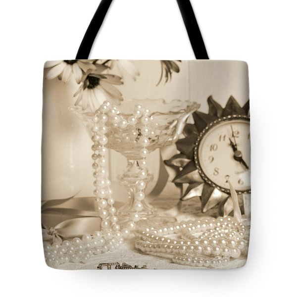 Vintage Dressing Table Tote Bag by Amanda And Christopher Elwell