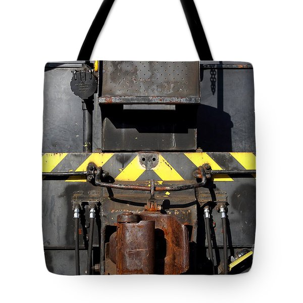 Vintage Railroad Train . 7d11601 Tote Bag by Wingsdomain Art and Photography