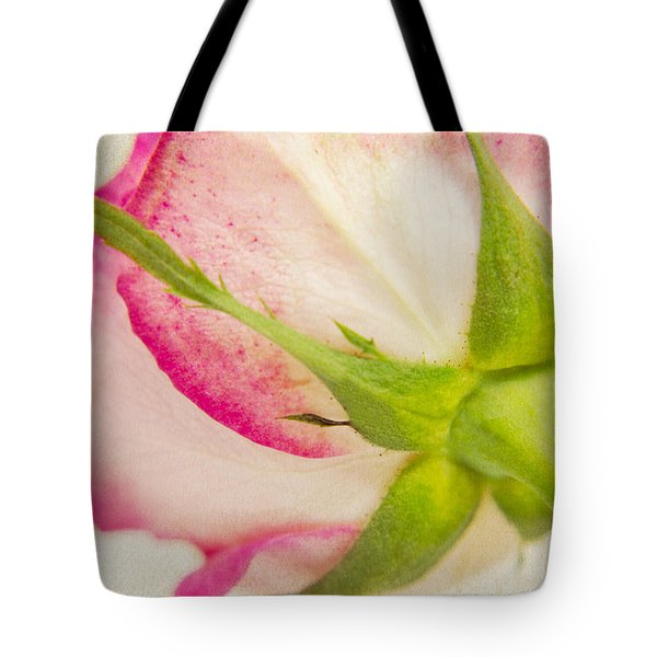 Vintage Rose Tote Bag by Angela Doelling AD DESIGN Photo and PhotoArt