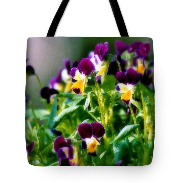 Viola Parade Tote Bag by Karen Wiles