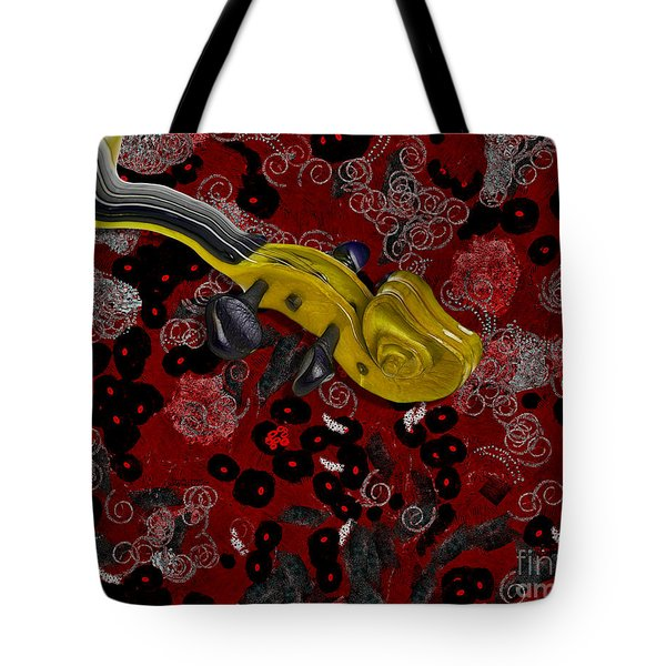 Violinelle - V02-12a Tote Bag by Variance Collections