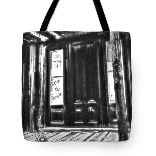 Virginia City Ghost Town Door II Tote Bag by Susan Kinney