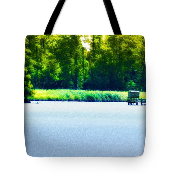 Virginia Tides Tote Bag by Bill Cannon