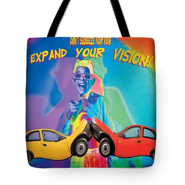 Vision Tote Bag by Mauro Celotti